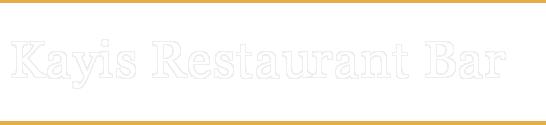 http://www.kayisrestaurantbar.com